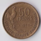 France, 50 Francs 1952, VF, WE1371